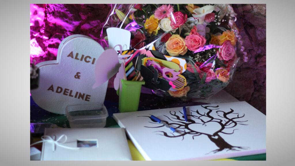 MARIAGE ALICIA & ADELINE